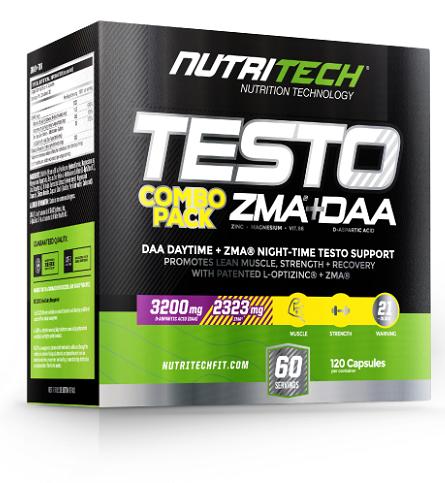 Nutritech Testo Stack [120 Caps]