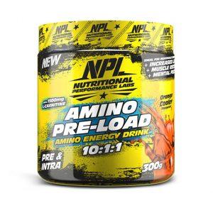 Jozi Iron - NPL Amino pre-load 300g